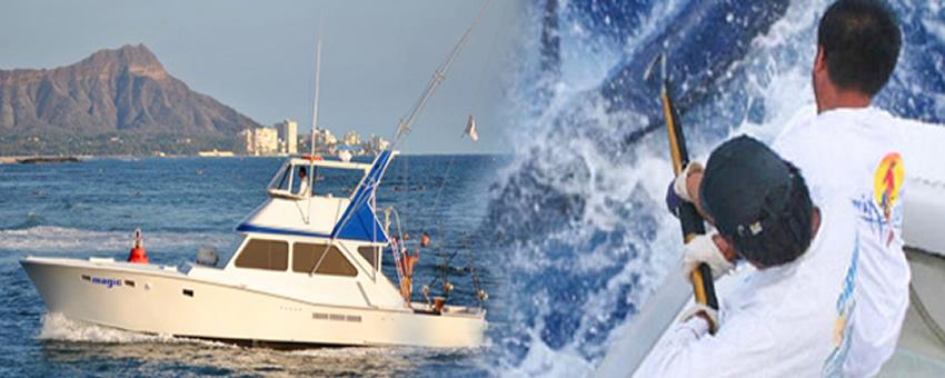 Magic sportfishing deep sea fishing oahu activities discount for Deep sea fishing oahu